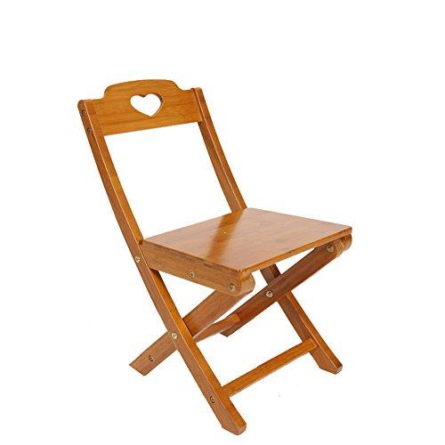 Silla plegable / respaldo taburete plegable / silla de bambú verde 33 * 31 * 55cm