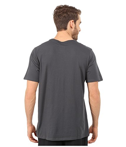 Nike Herren T-shirt Dri Fit Version 2.0 Grey (Anthracite/Anthracite/Volt)