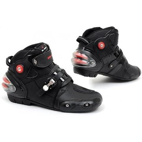 Caballeros de la motocicleta de montaña Botas de bicicletas Zapatos para Pro-Biker B1001