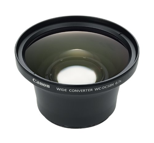 Preisvergleich Produktbild Canon Weitwinkel-Konverter WC-DC58N für PowerShot G3 / G5 / G6 / A630 / A640 / A700