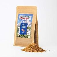 Ajo en polvo 200gm Producto natural de la India, secado como una especia, cinco veces más concentrado que el ajo secado por el seco, una cucharadita colmada corresponde a un diente de ajo