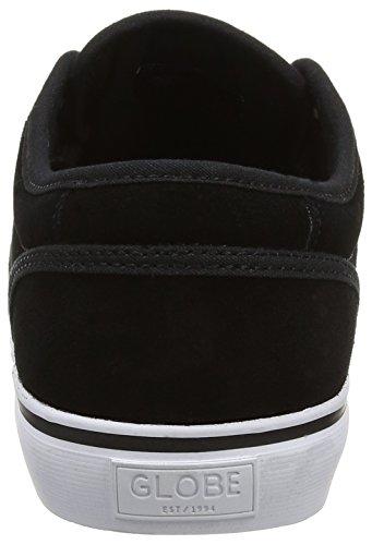 Globe Motley, Scarpe da Skateboard Uomo Nero (Black Suede)