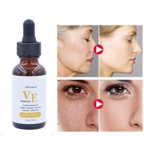 Bobora Vitamin E Ätherisches Öl Feuchtigkeitsspendende Anti-Falten Pflegende Haut Feuchtigkeitsspendendes Öl -