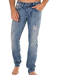 Solid Pantalon Jeans Ray