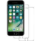 POOPHUNS Panzerglas Schutzfolie Kompatibel mit iPhone 7 / iPhone 8, 2 Stück, 9H Härte, Anti-Öl, Anti-Kratzer, Anti-Fingerabdruck, Gehärtetem Displayschutzfolie für iPhone 7 / iPhone 8