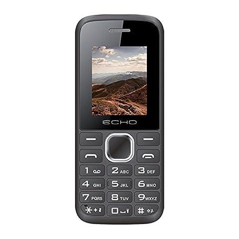 Echo First Téléphone Mobile Compact Noir