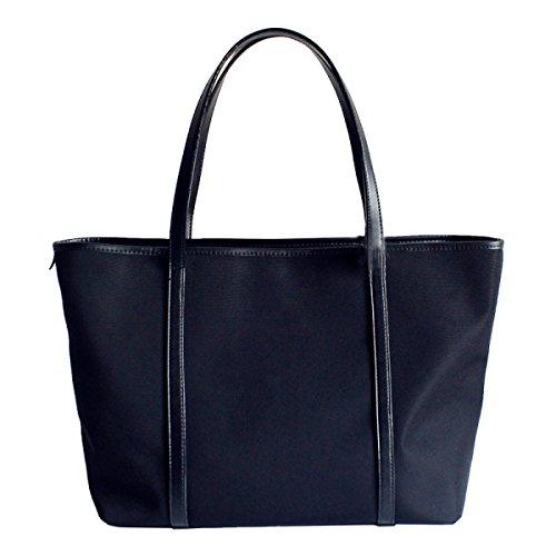 Yy.f Neuen Big-Bag Schulterbeutelhandtasche Wilde Schwarzes Oxford Tuch Einfach Mit Hohen Kapazität Tasche Black