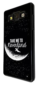 Cool Funky Moon take me to neverland 21 Design Samsung Galaxy Grand Prime Fashion Trend Coque arriere Coque Case
