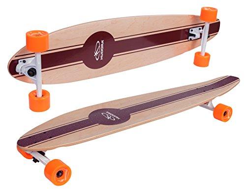 HUDORA Longboard Solana - ABEC 7 - Skateboard - 12809