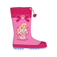 Disney Princess Palace Pets Wellies, Rubber Boots - 11.5 UK Pink