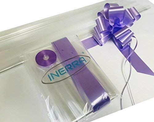 INERRA Regalo/Cesto Envolver Kit-2 Metros Plástico
