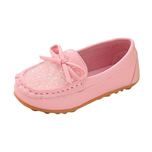FNKDOR Slipper Baby Mädchen Mokassin Prinzessin Casual Schuhe Kleinkind Kinder Sneaker Loafer (23, ()