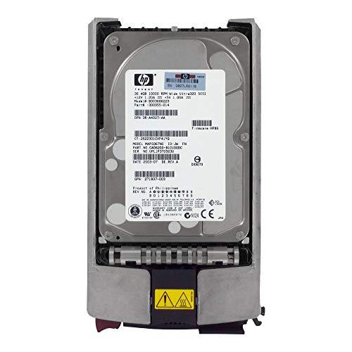Disque Dur Festplatte HP Compaq 36,4 GB Hard Drive U320 SCSI 10K 3,5p 80PIN BD03686223 289098-002 3R-A4027-AA MAP3367NC 271837-003 300955-014 CA06200-B10100DC - Compaq Scsi-festplatte