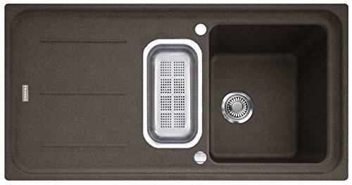 Preisvergleich Produktbild Franke Impact G IMG 651 G Umbra Granitspüle Grau Küchenspüle Spülbecken Einbau