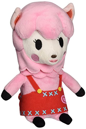 Nintendo Animal Crossing -  Reese Plush - Pink Alpacca - 23cm 9""