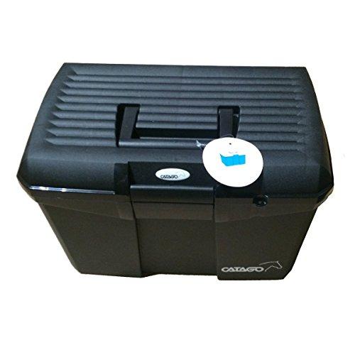 CATAGO Pferde Putzbox mit Zubehör - schwarz - 2