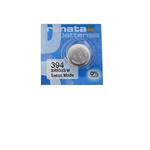 Renata Single Uhrenbatterie Swiss Made Renata 394SR936SW oder AG91,5V Schnell Schiff