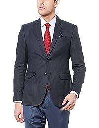 Peter England Grey Blazer