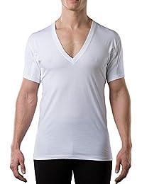 The Thompson Tee Camiseta Interior antisudor con Refuerzo Antimicrobiano EN Las Axilas - Corte Regular -