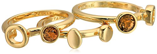 t-tahari-gold-set-with-light-colorado-stones-stackable-ring-size-7
