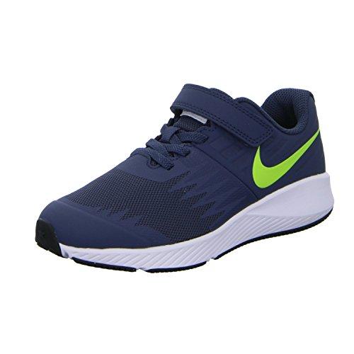 Nike Star Runner (PSV) 921443 404 Jungen Klettverschluss/Slipper Halbschuh (Nike-star)