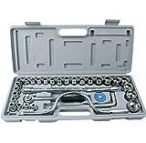 TGD Kfz-Zubehör Kombi-Werkzeugkasten 32-Teiliger Multifunktionaler Auto-Reparatur-Werkzeugsteckschlüssel