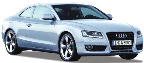 Norev 188350 - Sammlermodell, Audi A5 Coupe monzasilber 2007, 1/18 aus Metall