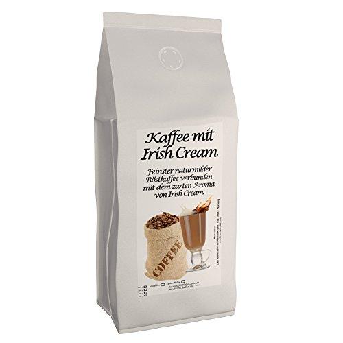 Aromakaffee - Aromatisierter Kaffee - Irish Cream 1000g Gemahlen - Spitzenkaffee - Schonend Und Frisch In Eigener Rösterei Geröstet