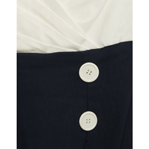 Steady Clothing Bleistiftkleid - Set Sail Diva Dress Dunkelblau L -