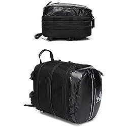 enrollable Lomo Bolso impermeable para motocicleta para parte superior