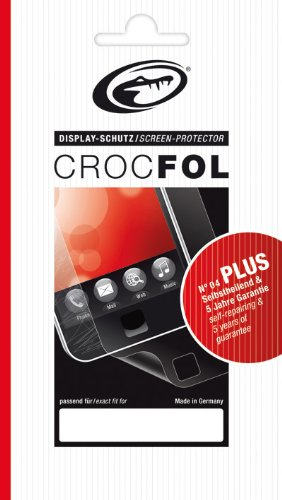 CROCFOL PLUS 5K HD Schutzfolie für das Samsung SGH-E200. Ultraklar mit selbstheilender Oberfläche (SELF-REPAIR). 3D Touch Folie für das Original Samsung SGH-E200. Hergestellt in Deutschland.
