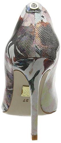 Moda in Pelle Cappi - Escarpins - Femme Multicolore (Floral)