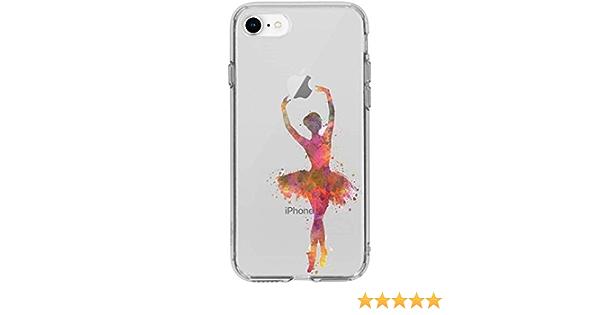 Cokitec Coque Transparente pour iphone 7/8 Danseuse Etoile