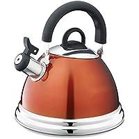 Kettle Caldera De Acero Inoxidable 304, Cocina De Inducción De Gas De Carbón, Caldera Que Silba,como se Muestra,4L