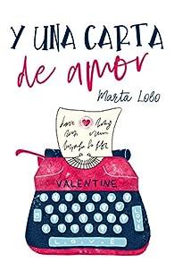 Y una carta de amor par Marta Lobo