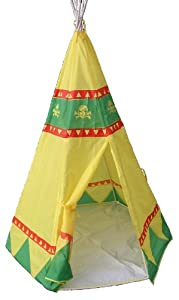 Traditional Garden Games Tee Pee Play Tent - Tienda de campaña (Traditional Garden Games 68)