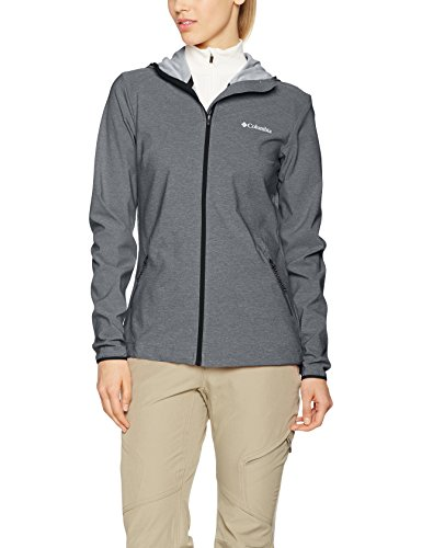 Columbia Damen Heather Canyon Softshell-Jacke, Black, XL