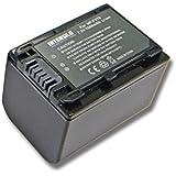 Batterie Li-Ion INTENSILO 1500mAh (7.2V) pour appareil photo, caméscope Sony HDR-CX250E, HDR-CX260VE, HDR-CX280E. Remplace: NP-FV70, NP-FV90, NP-FV100
