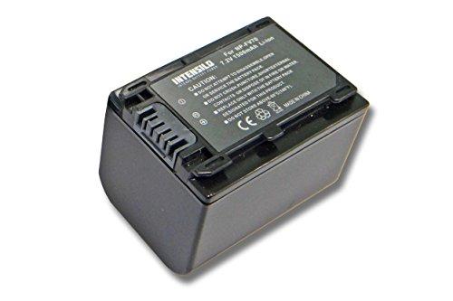 Batería INTENSILO Li-Ion 1500mAh (7.2V) para videocámaras Sony HDR-CX110E, HDR-CX115E, HDR-CX116E sustituye NP-FV70, NP-FV90, NP-FV100.