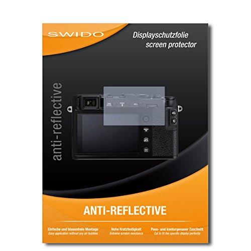 """2 x SWIDO® Protector de pantalla Fujifilm X-E3 Protectores de pantalla de película """"AntiReflex"""" antideslumbrante"""