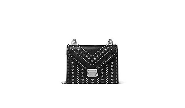 faf781d4286d55 Whitney Large Studded Leather Convertible Shoulder Bag: Amazon.co.uk: Shoes  & Bags