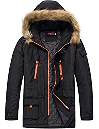23bda8d374bd Sanfte Herbst Winter Herren Winter Jacke Langarm Oversize Mantel Wärmejacke  Pullover Winter Coat Baumwolle Kapuze Hooded