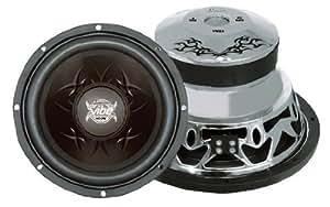 Lanzar VW84 Vibe 800 Watts 8-Inch 4 Ohm Subwoofer VehicleSpeakerSize: 8-inch SpeakersMaximumOutputPower: 800 Watts VoiceCoilDescription: 4-ohm Portable Consumer Electronic Gadget Shop