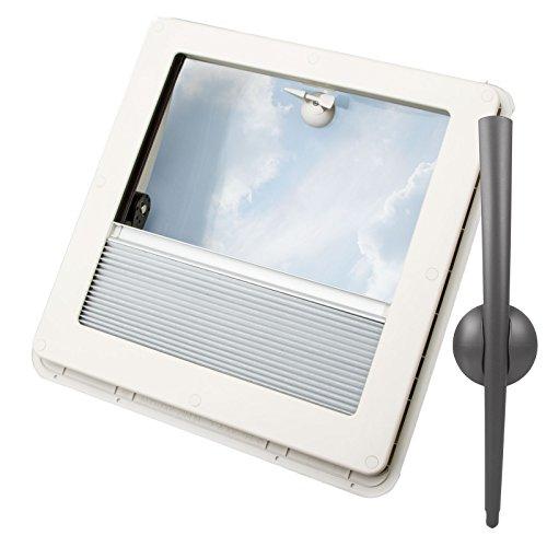 Remis Remitop Vista Fenêtre De Toit 40 X 40 Cm Transparent Mastic