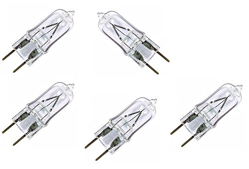 Kartique 2 Pin Halogen Bulbs for Lamps | Diffuser | Electric Diya | Mirchi Bulb ( Set Of 5 Bulbs ) - 50W - 220V  available at amazon for Rs.270