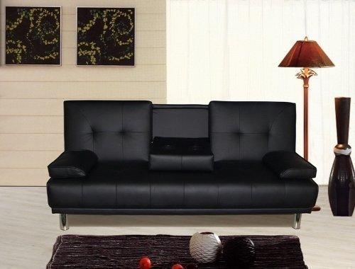 manhattan-3-seater-sofa-bed-with-cup-holders-black-by-sleep-design