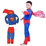 Kuhu Creations Superman Costume For Kids...