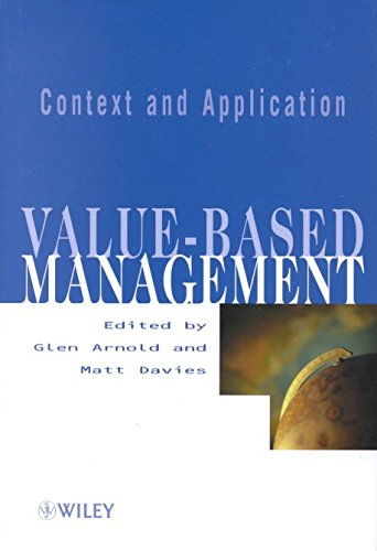 Read Value Based Management Context And Application Edited