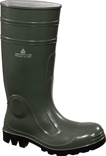 Delta Plus GIGNAC2 Bottes de sécurité PVC Hommes botte travail Résistant pluie green