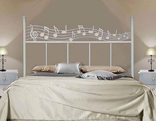 HOGARES CON ESTILO - Cabecero de Forja nacional modelo MOZART para una cama de 135 cms. (Varios colores y medidas disponibles).